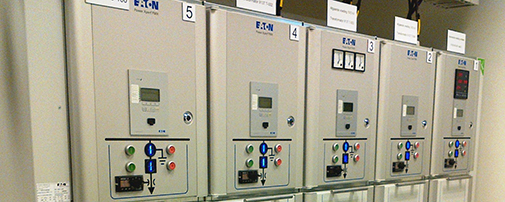 Laagspanningssystemen for Eaton motor control center